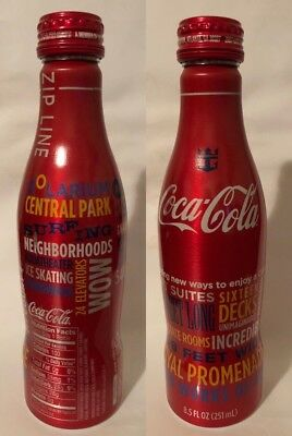 Coca Cola,Aluminum Bottle,Royal Caribbean OASIS OF THE SEAS NEW 2009