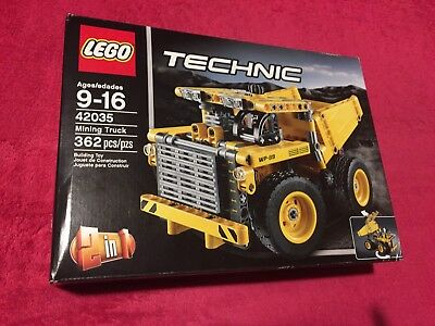 NEW LEGO TECHNIC 2-in-1 Yellow Mining Truck or Wheel Dozer 362 Pcs ...
