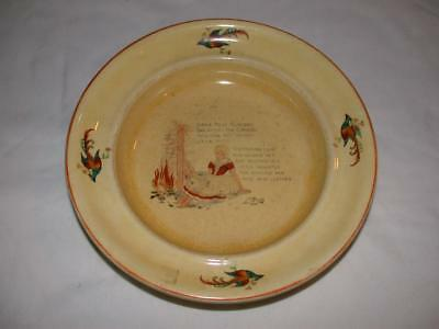 """Vintage Stoneware Little Polly Flinders Bowl From Fox Jewelers 8 1/4"""" X 1 1/2"""""""