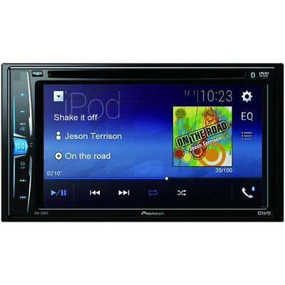 """PIONEER 6.2"""" Double-DIN In-Dash DVD Receiver with WVGA Clear-Resistive Touchscre"""