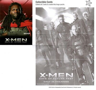 Marvel Comics: X-Man: Days of Future Past Carl's Jr. 2014 Trading Card Bishop