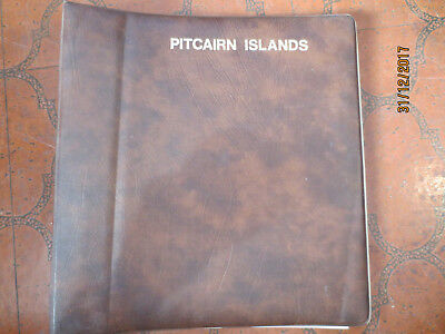 No--5 -PITCAIRN   ALBUM   --1985--1986--HINGLESS   PAGES   OK  ODD  MARK  --USED