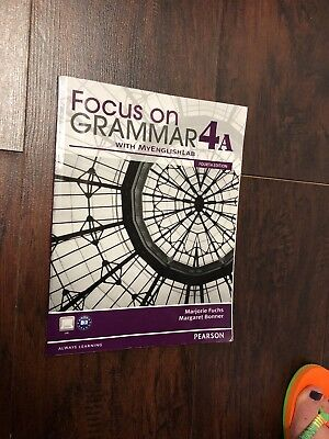 Focus on Grammar 4A (4th Edition) - standalone book and Focus on grammar wor..