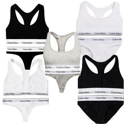Women Ladies Calvin Klein Underwear Sports Bra or Bralette Hip Brief Boxer Sets