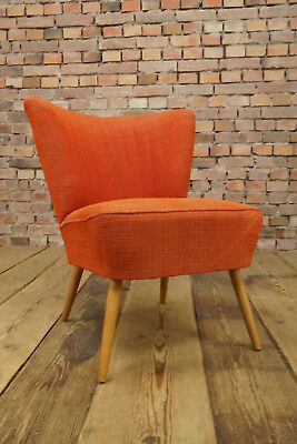 Rockabilly Cocktail Chair Lounge Chair Vintage Mid-Century Club Chair 50er 2