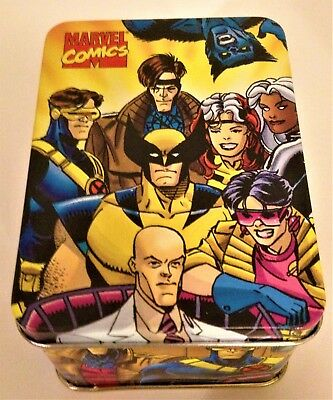 Marvel Comics: X-Men Nabisco 1993 Collector Tin In Mailer Box