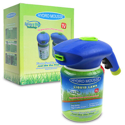 Hydro Mousse Liquid Lawn Empty Rescue Covers up to 200 square feet Grass Grower