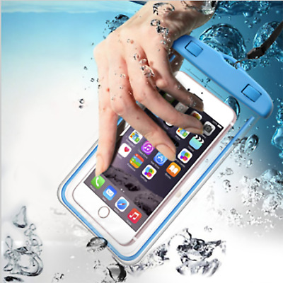 Waterproof Underwater Case Fluorescent Cover Bag Dry Pouch For Mobile Phone