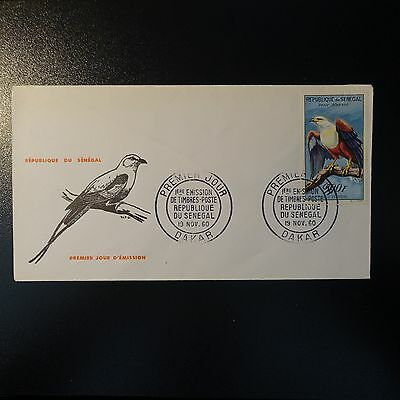 SENEGAL POST AERIAL PA N°35 SUR LETTER COVER 1st DAY FDC