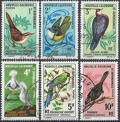 New Caledonia N°345/350 - Obliteration Stamp Has Date
