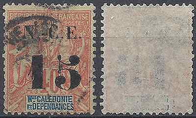 France Colony New Caledonia N°66 - Obliteration Stamp Has Date - Value
