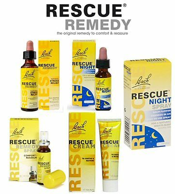 Bach Flower Rescue Remedy ***Free UK Shipping for Additional Quantities***