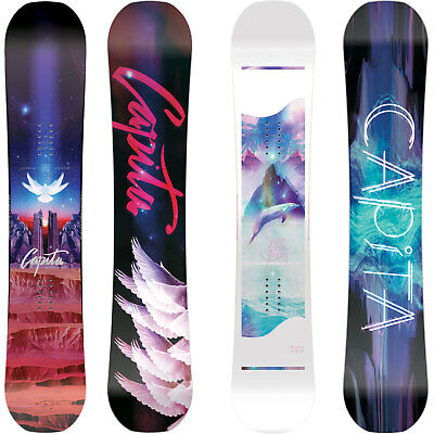Capità Space Metal Fantasy Women's Snowboard Freestyle Hybrid Rocker 2018 NEW