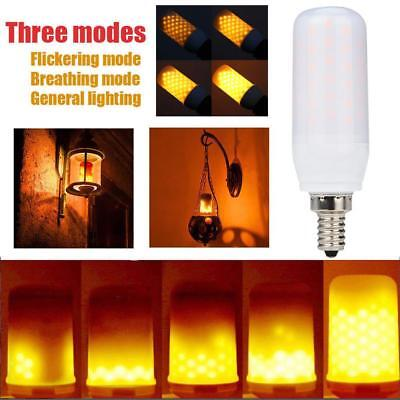 LED Flame Fire Light Effect Simulated Nature Corn Bulbs E12 Decoration Lamp by W