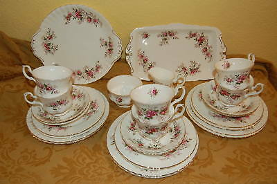 28 Teile Royal Albert Lavender Rose Kaffeeservice