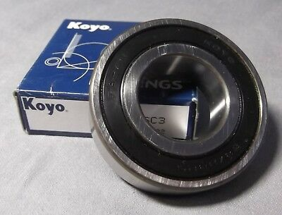 Top Quality Koyo 6304-2RS/C3 Deep Groove Ball Bearing Two Rubber Seals 20x52x15