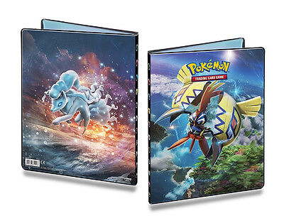 Guardians Rising Pokemon 9-Pocket Portfolio/Folder A4 Holds 180 Cards Doubled