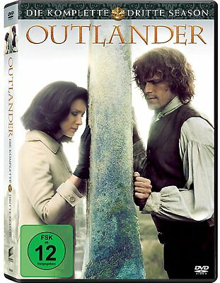 Outlander Die Komplette Dritte Season / Staffel 3  Dvd Deutsch