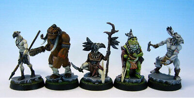 Alkemy Aurlock Nation Starter Box (Kraken Editions) 5 FIGUREN + Gratis Mini