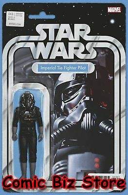 Star Wars #43 (2018) 1St Printing Christopher Action Figure Variant Cover Marvel