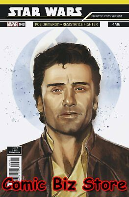 Star Wars #43 (2018) 1St Printing Reis Galactic Icon Variant Cover Marvel