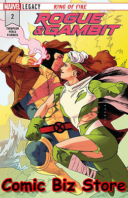 Rogue & Gambit #2 (Of 5) (2018) 1St Printing Bagged & Boarded Legacy Tie-In