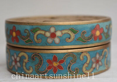Exquisite Chinese Old Cloisonne Incense Burner Collection Home Decoration Handma