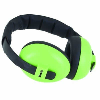 BANZ Mini Earmuffs Lime (Dispatched From UK)