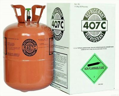 R407C 25 Lbs Factory Sealed Tank Usa Made *******lowest Price On Ebay***********