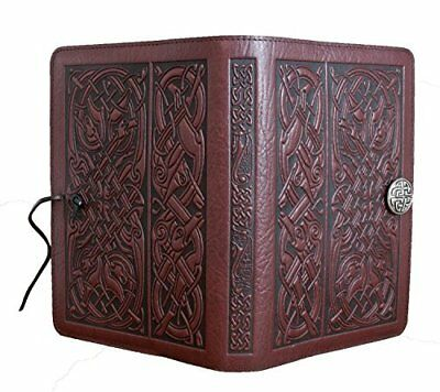 QualityArt Handmade Distressed Leather Journal Diary Notebook Celtic Tree Of