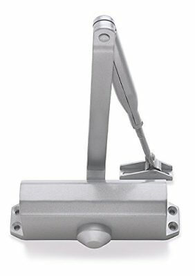 Briton Automatic Over Head Door Closer Silver - Fire Rated
