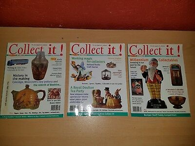 COLLECT IT! Magazine Issues16, 17 & 18 October , November & December  1998 -