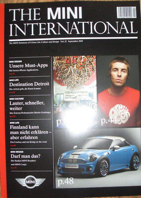 BMW MINI Cooper *The MINI International Vol.32 9/2009*