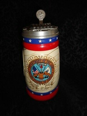 2002 Anheuser-Busch U.S. Armed Forces Series Limited Edition Army Stein - CS567