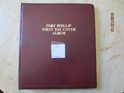 No-44 - FDC  ALBUM   30  PAGES  DOUBLE  SIDED -3  RING  BINDER--GOOD ORDER