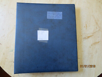 No-46 - FDC  ALBUM   30  PAGES  DOUBLE  SIDED -3  RING  BINDER--GOOD ORDER