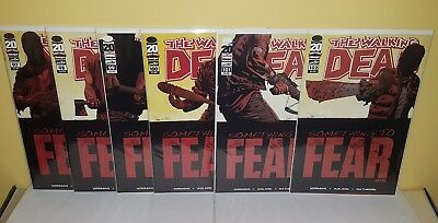 The Walking Dead #97 98 99 100 101 102 NM 1st Negan (Something To Fear Set)