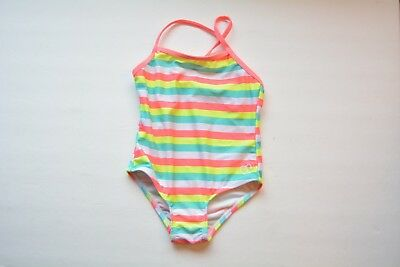 infant girls OP size 24mo striped one piece swimsuit