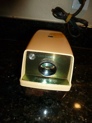 Panasonic Point-O-Matic Model KP-33A Electric Pencil Sharpener Tested