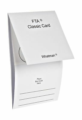 Whatman WB120205 FTA Classic Card 4-Sample Area, 4 x 125 microliter Size (Pac...