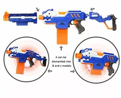 Dart Soft Bullet CS Toy Gun Electric Nerf Shot Rocket Sniper Rifle weapon N Gift