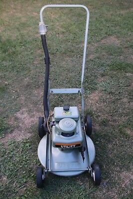 Superb RESTORED 1950-60s Vintage Victa UTILITY  'Toe Cutter' Lawn Mower