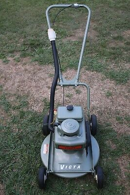Superb RESTORED 1950-60s Vintage Victa UTILITY  'Toe Cutter' Lawn Mower #2
