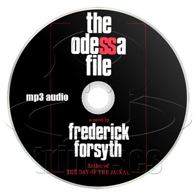 The Odessa File, by Frederick Forsyth (1972) Audiobook (1 x mp3 CD)