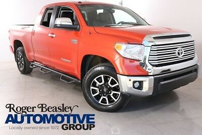 2016 Toyota Tundra Limited Crew Cab Pickup 4-Door LIMITED,V8,NAV,JBL STEREO,LEATHER,CREW CAB,ALLOYS,STEP BOARDS,V8,SLIDER,14K MI.