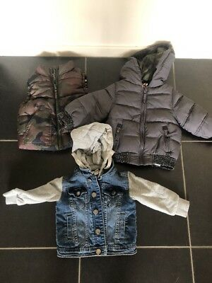 little boys jackets coat size 1 cotton on kids toddler warm winter clothes grow