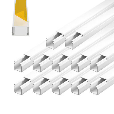 Cable Channel Self Adhesive 25x25mm PVC 12m installationskanal Electric Canal