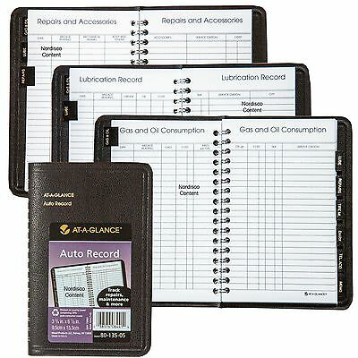 At-A Glance Auto Expense Record Book, 80-135-05