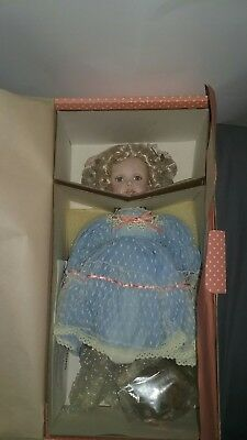 """Victoria Porcelain Doll Paradise Galleries Treasury Collection 14"""" Patricia Rose"""
