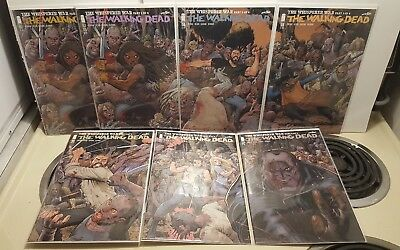 The Walking Dead #157 (1st & 2nd Print) 158 159 160 161 162 NM Variant Set